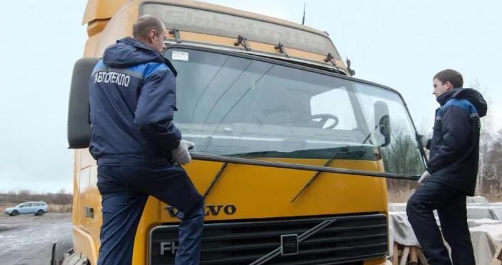 Замена стекла для грузовых автомобилей